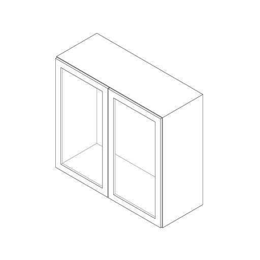 Wall Cabinet, 2 Door