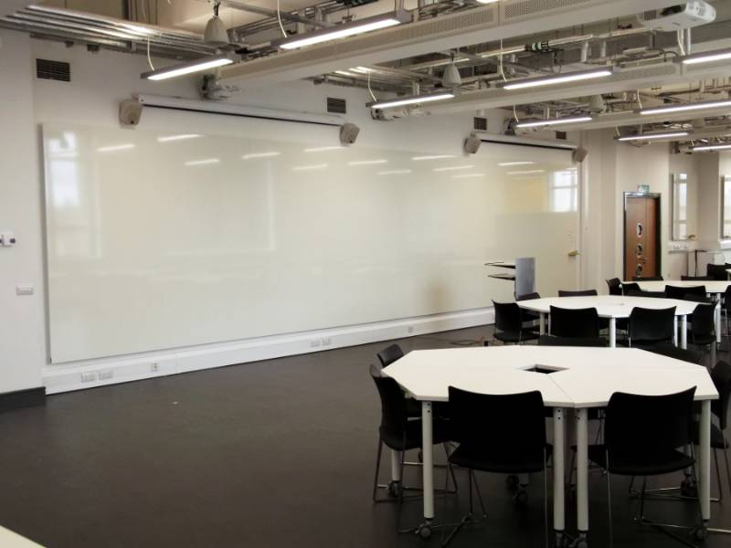 Whole Wall Whiteboards – Design Studio Fit Out