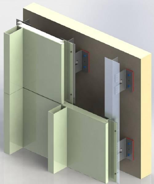 Vertical Interlocking Cladding (With Box)