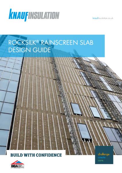 Knauf Insulation Rocksilk® RainScreen Slab - Design Guide