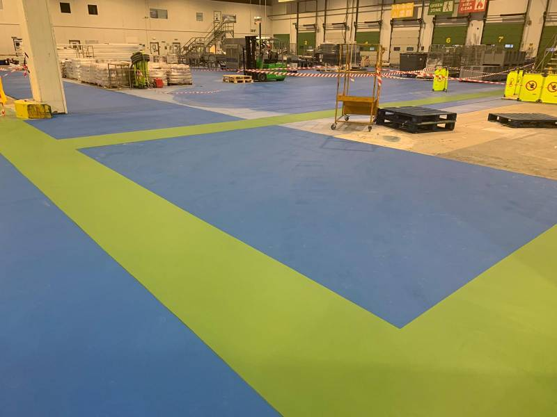 IPL Food Unit finds FasTop floor screeding systems are perfect solution as a long term working surface with HACCP standards