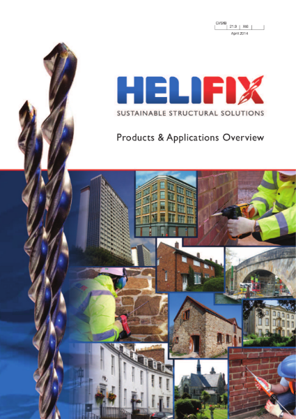 Helifix Products and Applications Overview Brochure