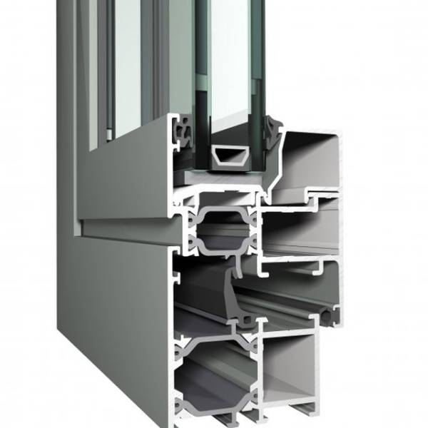 Aluminium Window ES 50 Eco System