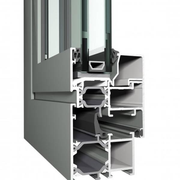 Aluminium Window ES 50 Eco System