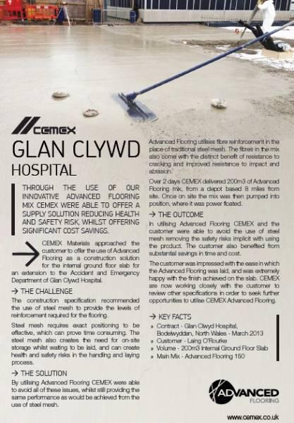 Glan Clywd Hospital - Advanced Flooring