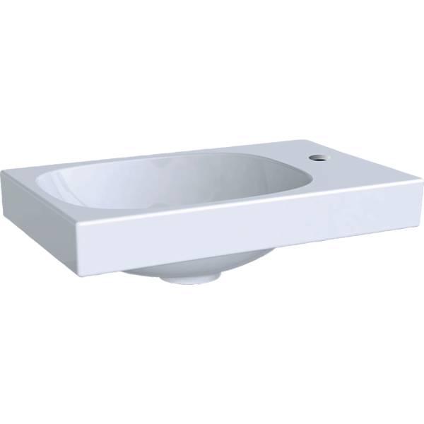 Acanto handrinse basin, right tap hole