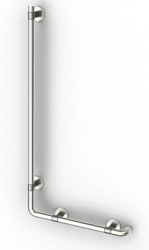 Shower Grab Bar Set, 90°