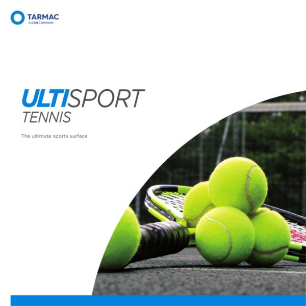 Porous asphalt tennis court surface - Tarmac