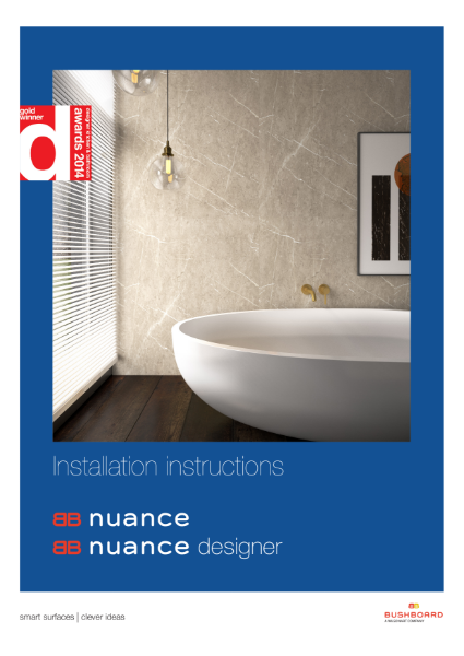 Nuance Installation Instructions