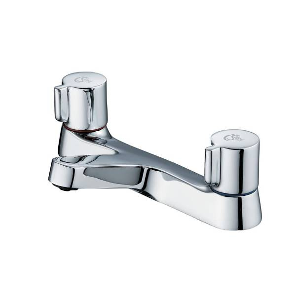 Alto Dual Control Two Hole Bath Filler