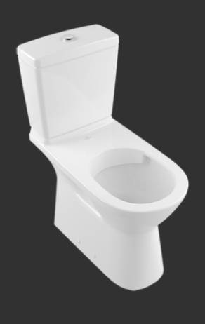 ViCare Washdown WC for Close-coupled WC-suite, Horizontal Outlet 4620R2