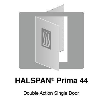 HALSPAN® Prima 44 mm Internal Fire Rated Door Blank - Double Acting Single Doors