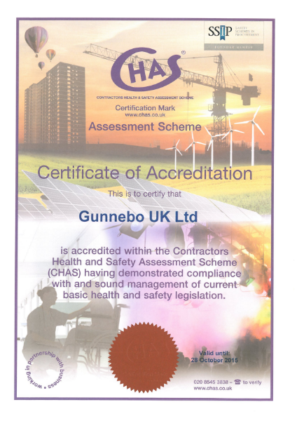 Contractors Health and Safety Certificate