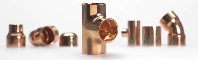 Copper refrigerant pipelines