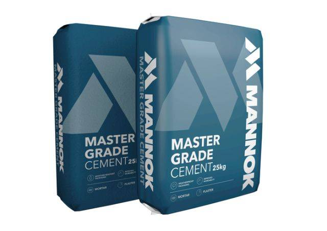 Master Grade 32.5 R Bagged Cement