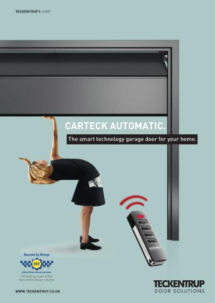 Teckentrup CarTeck GSW40-L Insulated Sectional Garage Doors