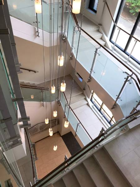 School selects Kubit railing and balustrade system for the main staircase
