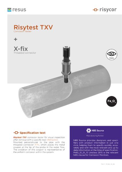 Risytest TXV-fix-set Technical Datasheet EN V3 00