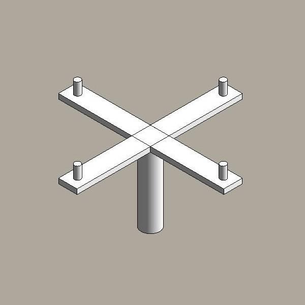 Aluminium floodlight brackets