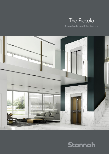 Stannah homelift Piccolo brochure