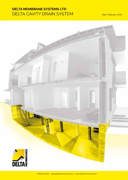 Delta Cavity Drain Brochure