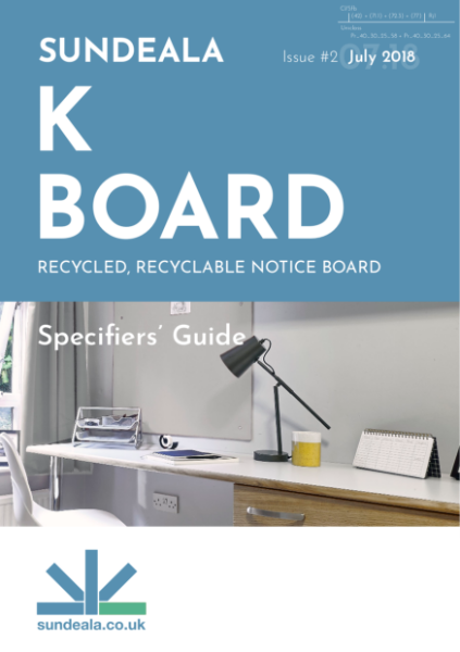 Sundeala K Board - Specifier Guide