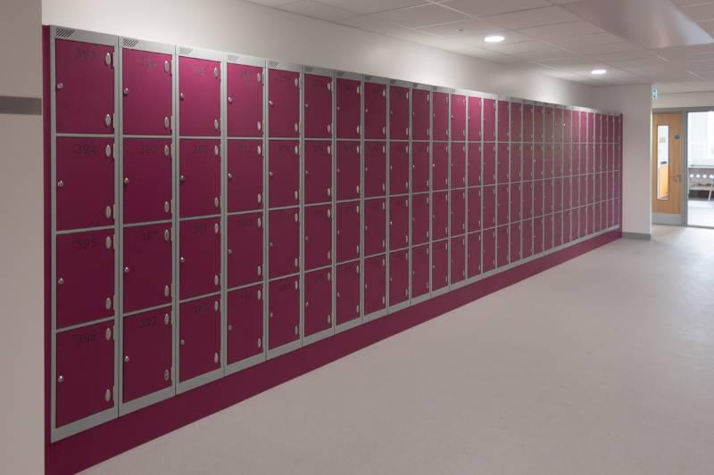 Chorlton High School Laminate Lockers Project