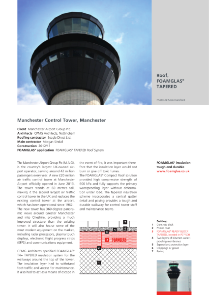 Airport Control Tower Roof - Case Study