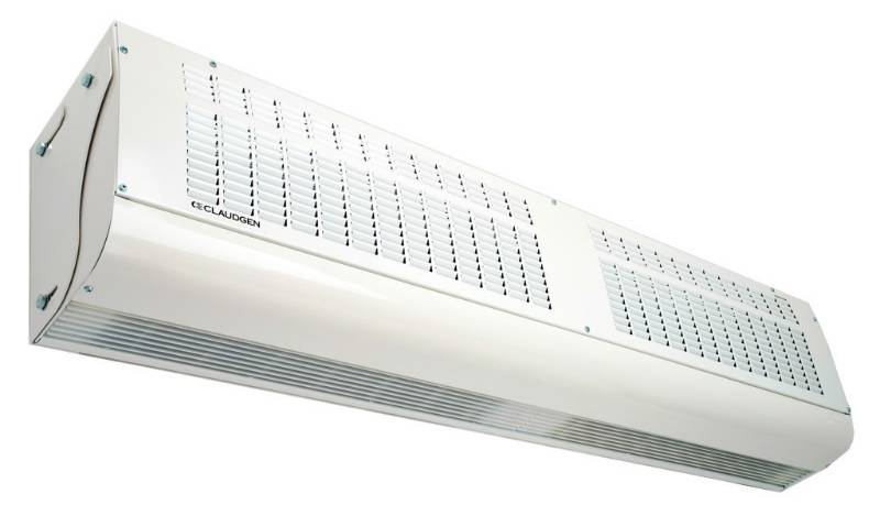 Large air curtains