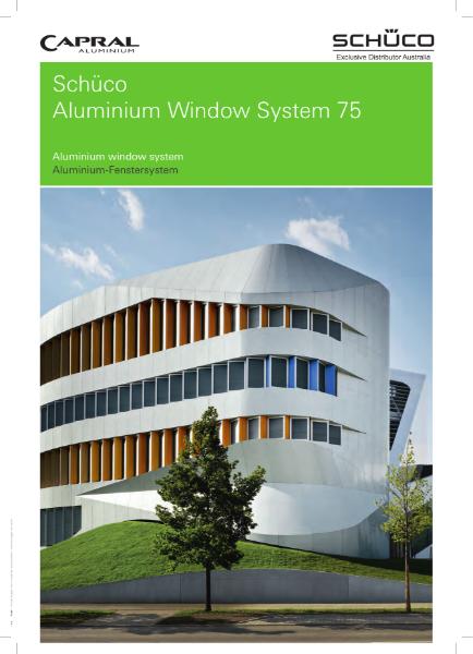 Schuco Aluminium Windows System 75.