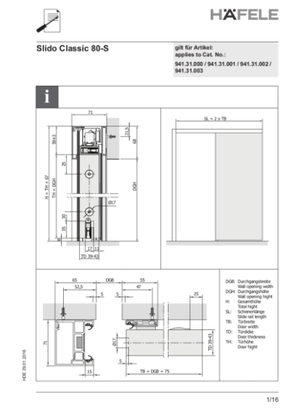 Guide to Acoustic Sliding Door Gear
