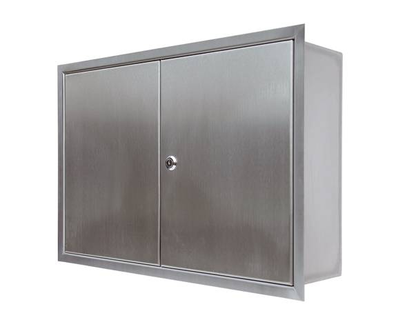 KESSEL Access Panel Stainless Steel, Recessed Installation