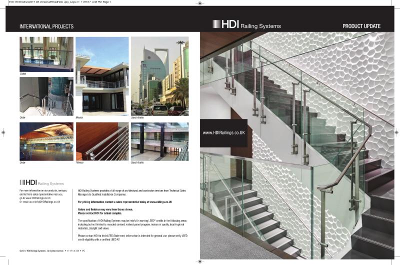 HDI RAILING AND BALUSTRADE SYSTEMS