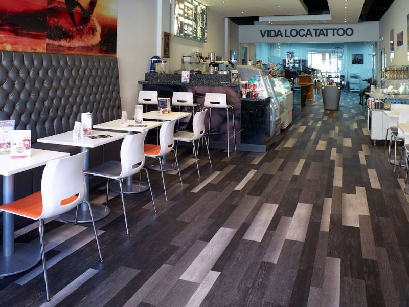 Eye-catching Expona flooring helps tattoo studio stand out from the crowd