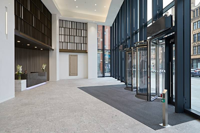 A New Angle in Entrance Matting Design at Landmark, Manchester