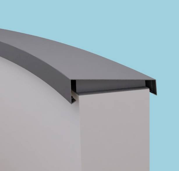 Curved Copings - Weatherstruck