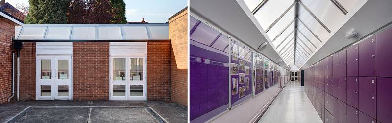 Sale Grammar School Rooflight Replacement
