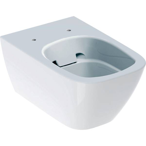 Smyle Square wall-hung WC, washdown, shrouded, Rimfree