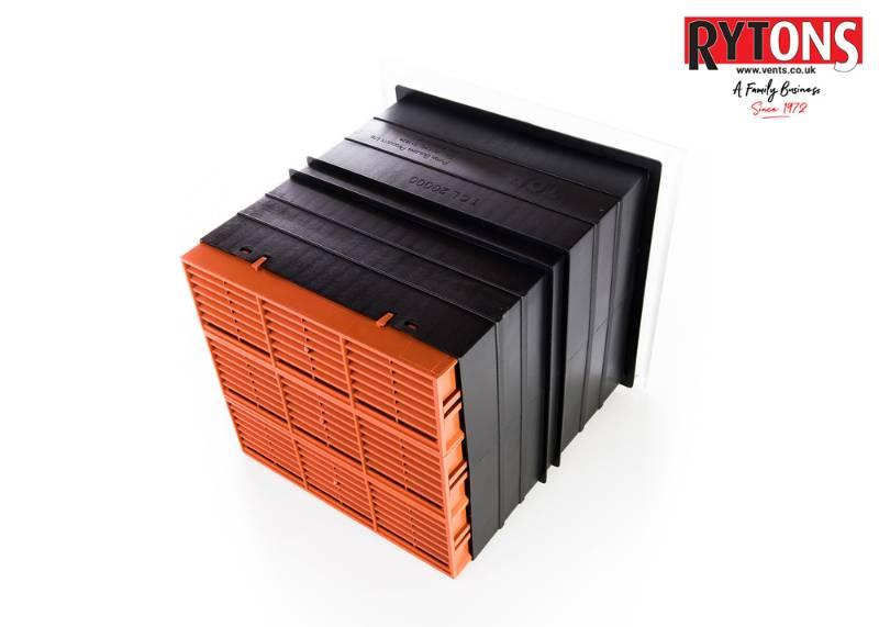 TCL20 - Rytons 9 x 9 Ventilation Set with Louvre Ventilator