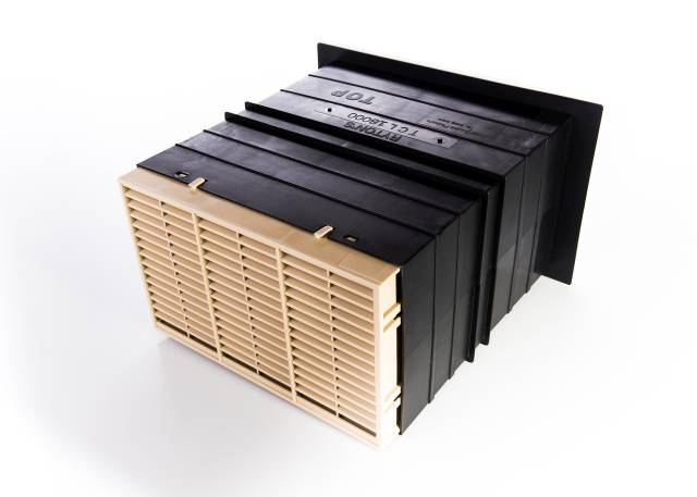 Rytons 9x6 Acoustic AirLiner® Set with Flush Louvre Ventilator Range