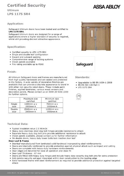 Safeguard - SR4