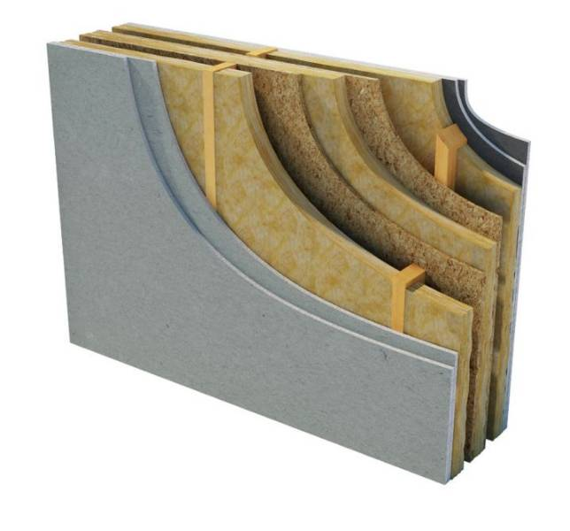 Superglass Timber Frame Party Wall Roll