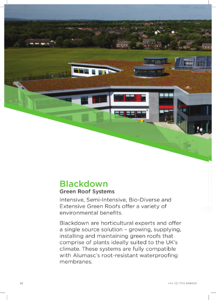 Blackdown Green Roof Brochure