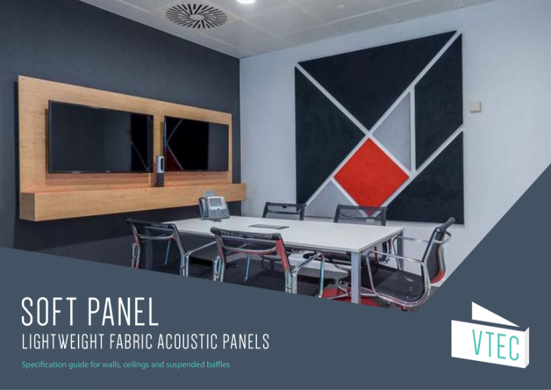 Soft Panel - Fabric Acoustic Solution - Specification Guide