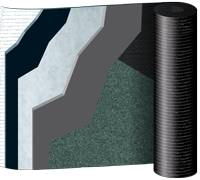 TECH MILLENNIUM - Reinforced bitumen sheets for roofing