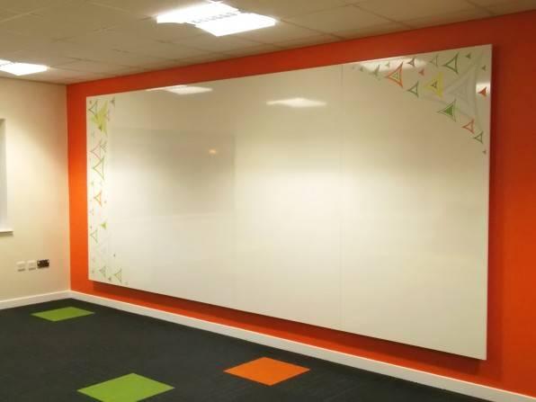 Whole Wall Bespoke Magnetic Whiteboard