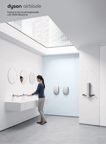 Brochure - Dyson Airblade hand dryers