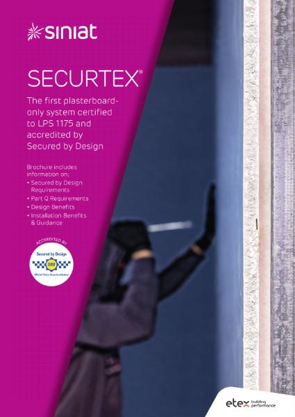 Siniat Securtex: Attack Resistant Plasterboard