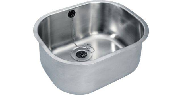 Inset sink bowl grade 304 stainless steel