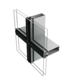 AluK SG52 Structurally Glazed Stick Curtain Walling System